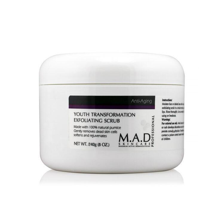 M.A.D. Youth Transformation Exfoliating Scrub 240 g